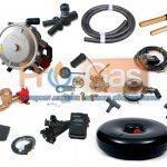 Купить комплект газового оборудования ГБО 2 поколения Atiker (инжектор) с тороид