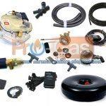 Купить продажа комплект газового оборудования ГБО 3-го поколения BRC (инжектор)