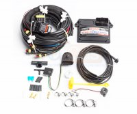 Электроника STAG Q-BOX Basic 4 цил. (перекл. LED-300, PS-04, датчик уровня) Поль