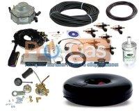 Купить комплект ГБО 4 поколения Stag-300-6 ISA2 6 цилиндров до 245 л.с. (ред. Gu