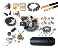 Купить продажа карбюраторный комплект гбо 2 поколения Tomasetto с цилиндрическим