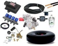 Купить комплект газового оборудования ГБО 4 поколения Stag 200 GoFast+Atiker SR0